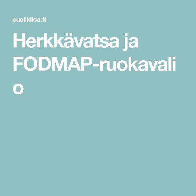 Herkkävatsa ja FODMAP-ruokavalio