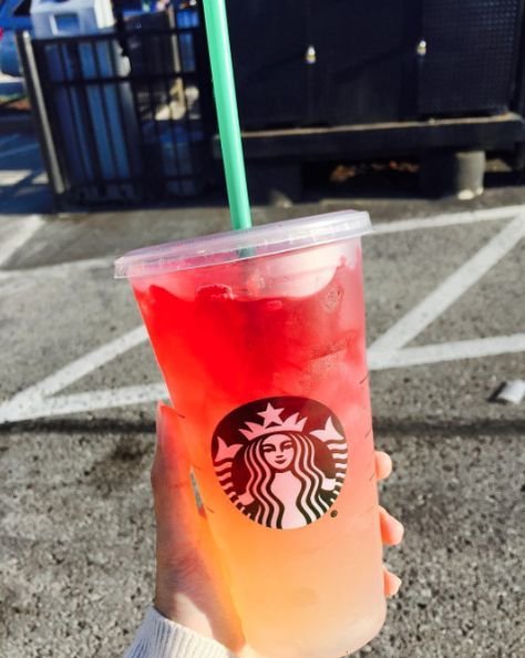 5 Secret Menu Drinks to Try If You're Obsessed With Starbucks. I wanna try the Sunset Refresher