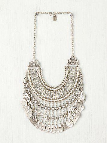 Della Coin Necklace from Privilege