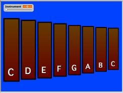 Nebo Elementary School Department of Fine Arts - Using coding to create an xylophone