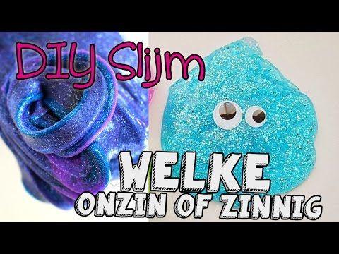 DIY Slijm Maken Pin Test #4 Welke Onzin of Zinnig? - YouTube