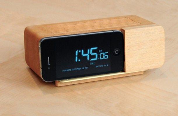 Alarm Dock by Jonas Damon
