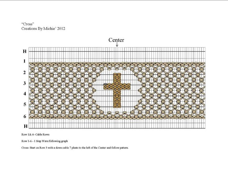 Cross Smocking Design from Creations by Michie