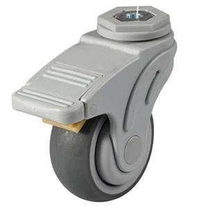 """Descripción:  Ruedas médicos con agujero de perno,Ruedas para hospital  Material de la rueda: TPR  Plate Size: 3 """"X 32mm; 4"""" X 32mm; 5 """"x 32 mm  Capacidad de carga: 80kg-100kg  Tipo de rodamiento: Cojinete de bolas  Tipo opcional: plato giratorio, hilo giratorio giratorio, tallo, agujero pasante  Ampliamente utilizado como cama de hospital ruedas, Carro Medico ruedas, Camilla cama ruedas ruedas, salud www.casterwheelsco.com ; sales@casterwheelsco.com"""