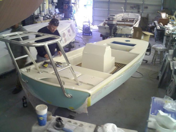 Custom Boston Whaler Flats Boat Build - Page 6 - The Hull Truth - Boating and Fishing Forum