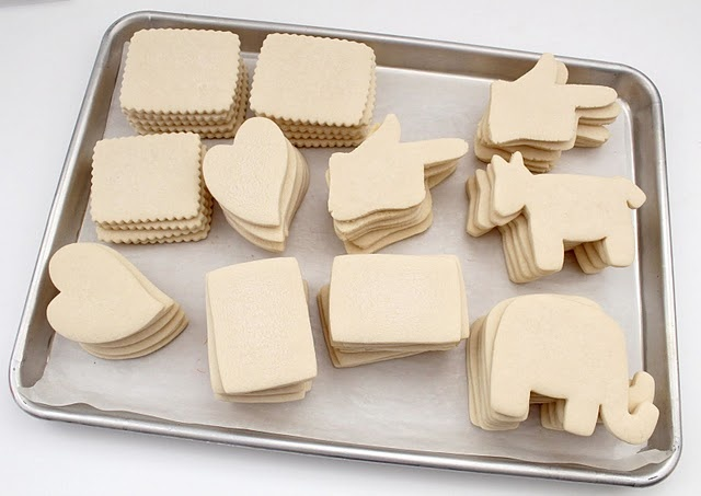 Basic Sugar Cookie Recipie for decorated cookies. Very cool blog!