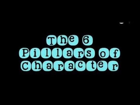 best examples of character traits ideas to tell this video was designed to introduce students to the 6 pillars of character there are