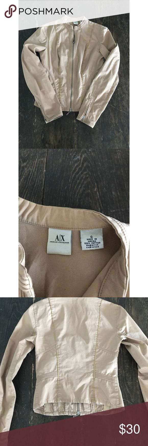 Armani exchange jacket Size small I'm good condition, no