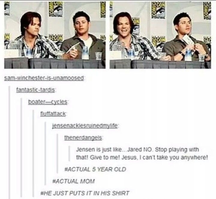 They're the best | Jared Padalecki and Jensen Ackles | Supernatural