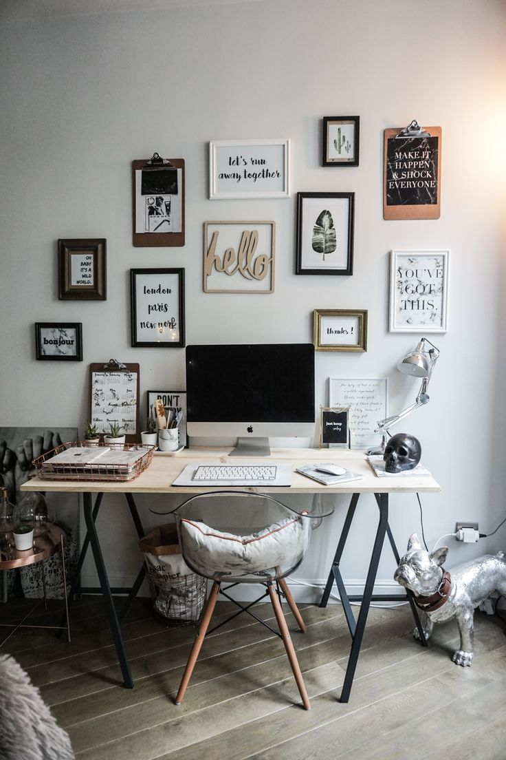Populaire 354 best Bureau images on Pinterest | Home office, Work spaces and  OX06