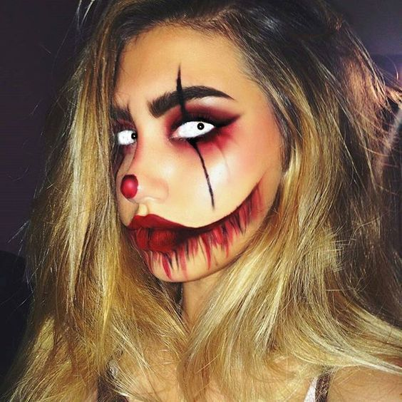 No costume? No problem. These Halloween makeup ideas are all you need to pull off the ultimate last-minute costume — Visit our shop halloween — #halloween makeup scary #halloween makeup men #halloween makeup diy #dark halloween makeup #halloween makeup easy #halloween makeup pretty #halloween makeup ideas #halloween makeup hombre #halloween makeup tutorial #halloween makeup vampire #halloween makeup skeleton #halloween makeup witch #creepy halloween makeup #halloween makeup kids #cute hallow