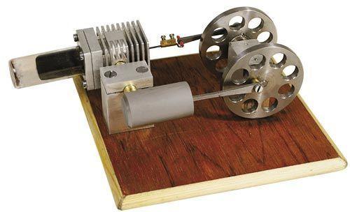 Kit to build hot air (stirling ) engine Stirling engine
