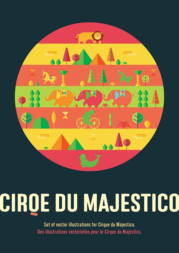 » CIRQE DU MAJESTICO on Behance
