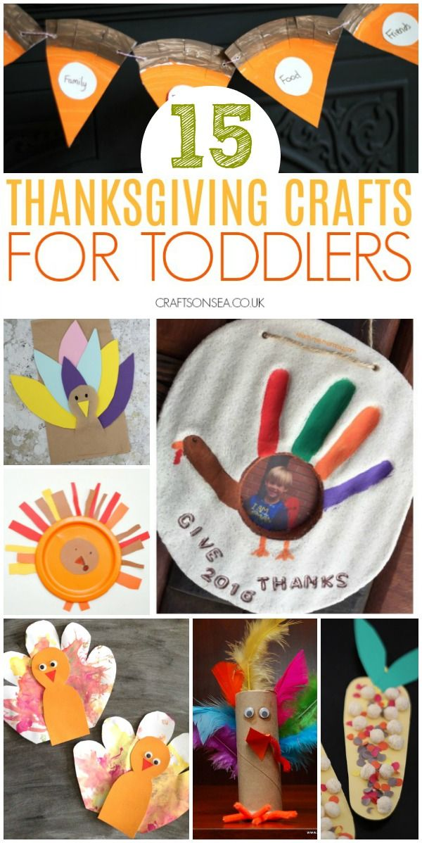 Easy And Fun Thanksgiving Activities For Toddlers Crafts And