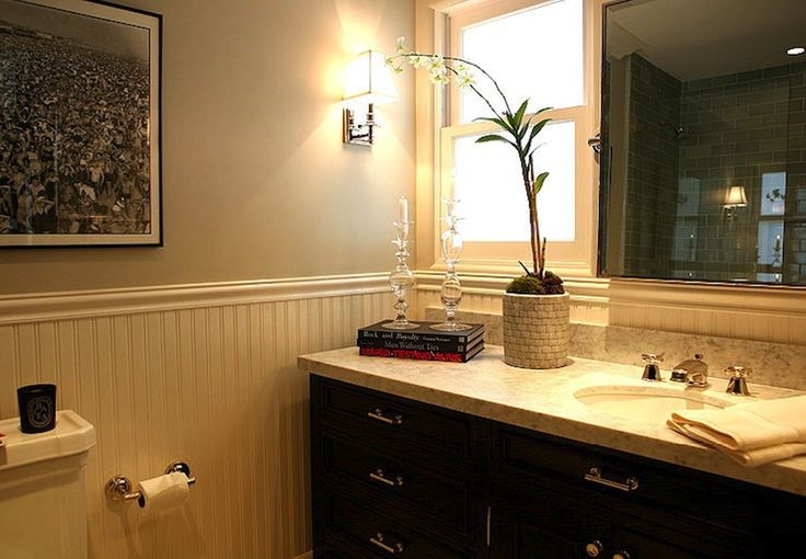 Pics On Bathroom Cabinets And Countertops Jeff Lewis Design bathrooms black bathroom cabinet marble top bathroom Pinterest Jeff lewis design
