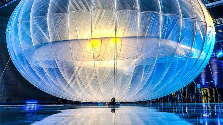 Projet Loon : une intelligence artificielle pilote désormais les ballons Internet de Google