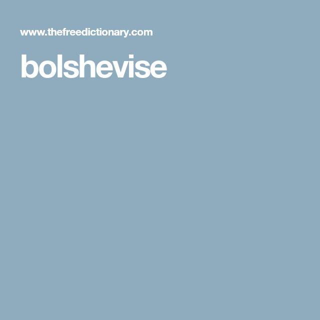 bolshevise