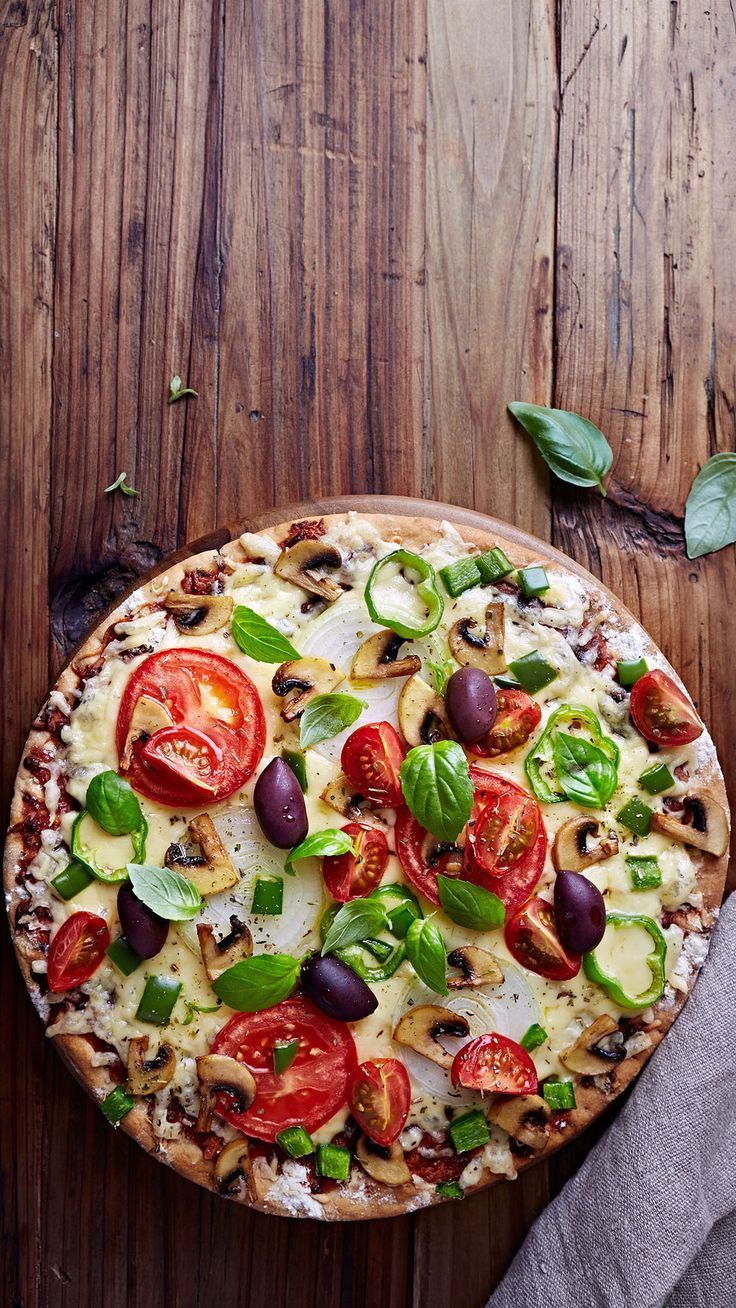 Healthy pizza - this recipe is so simple, and gives you a healthy, but delicious dinner idea.