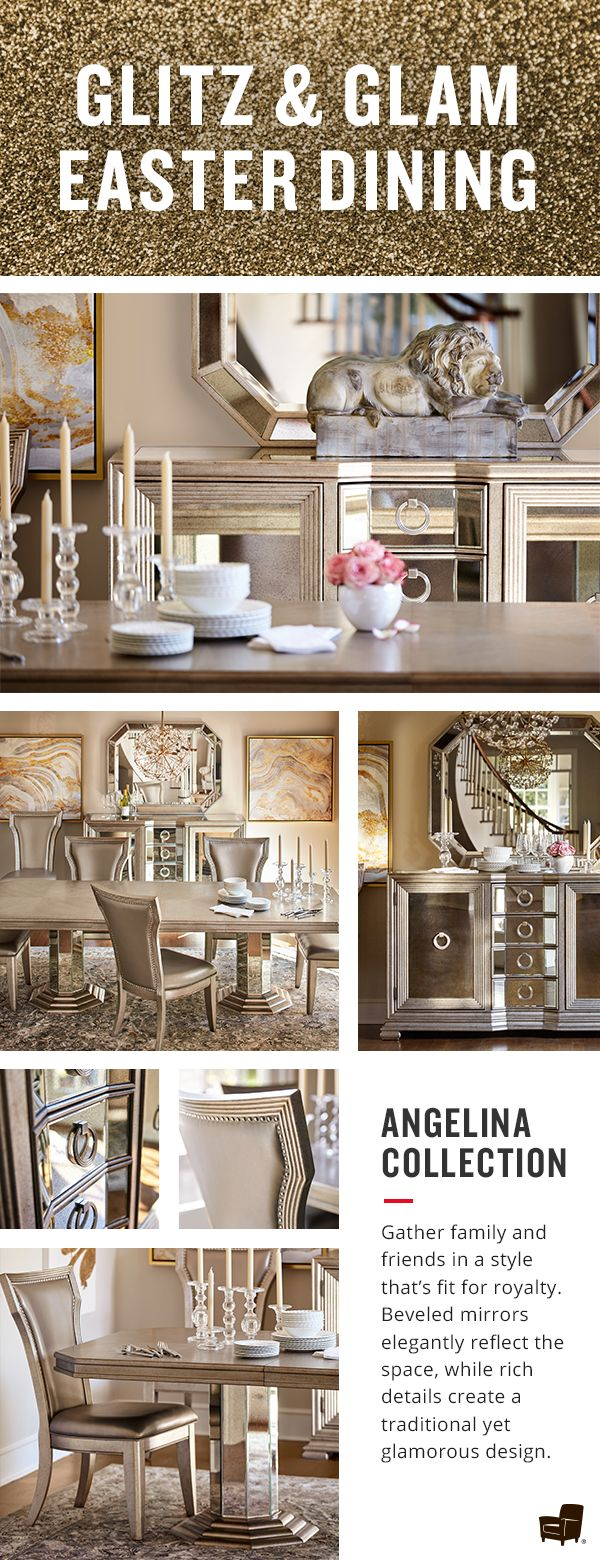 "Nothing says Easter Dining quite like the Angelina Collection. It's time to ""Wow"" your family and friends with this one!"