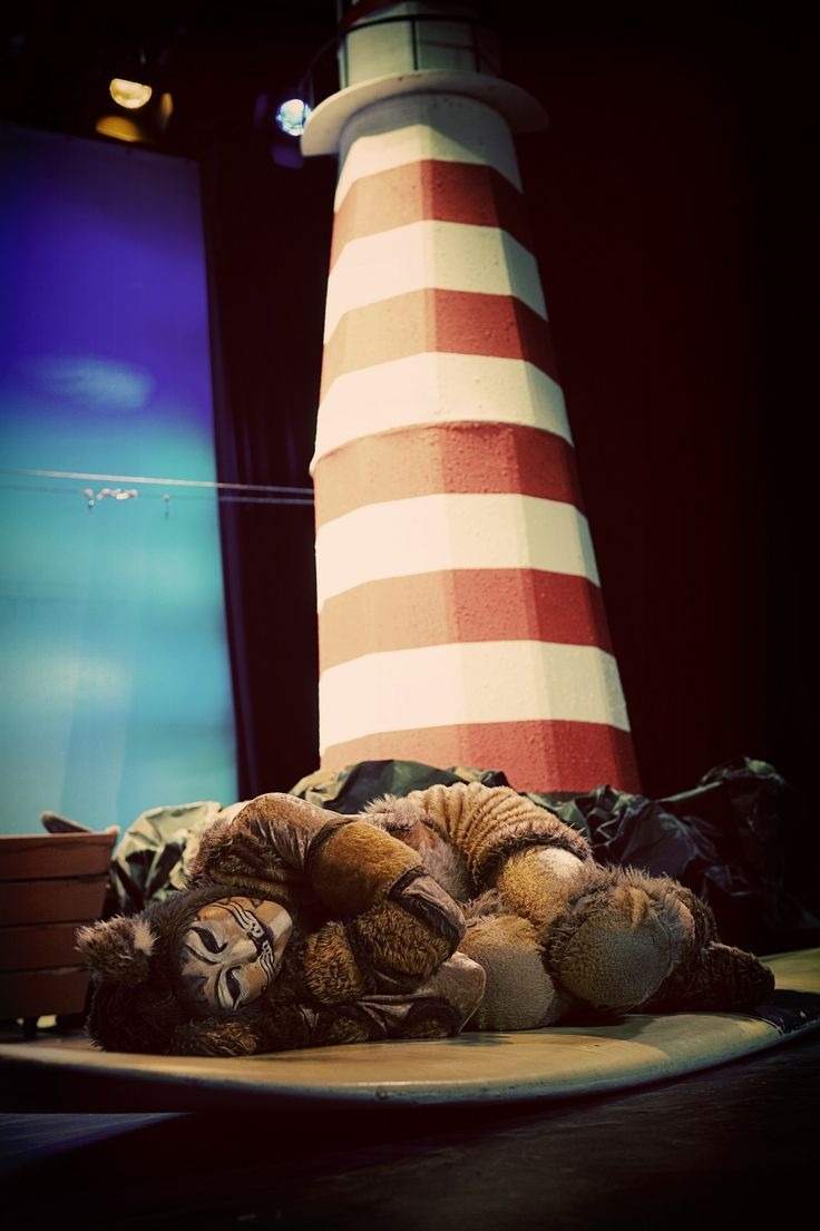 The Lighthouse Keeper's Lunch, Tim Bray Productions, Pumphouse Theatre, Takapuna, Auckland, New Zealand, 2011