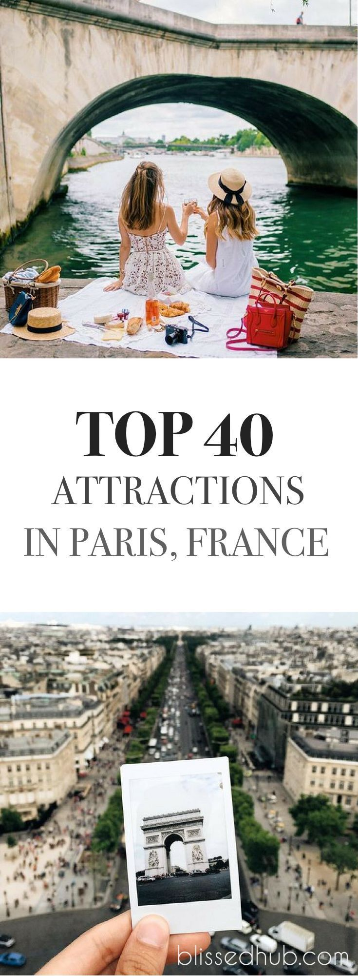 ღღ TOP 40 ATTRACTIONS IN PARIS FRANCE | most beautiful places to go - places to go - france holiday - paris photos - places to go list