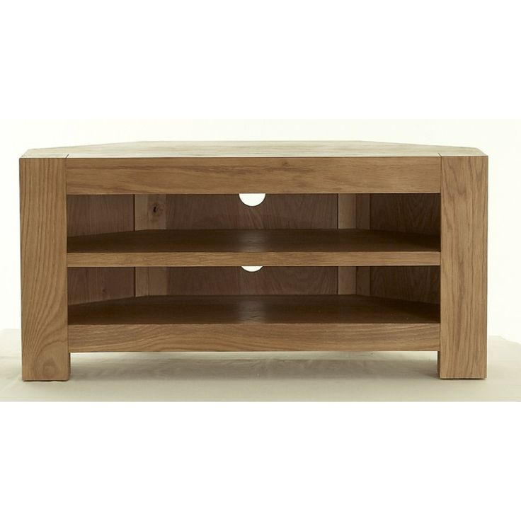 Eton Oak Corner TV Unit