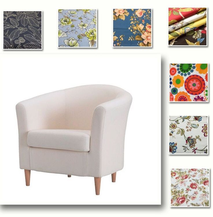 Custom Made Cover Fits IKEA Ektorp Tullsta Chair Patterned Replace
