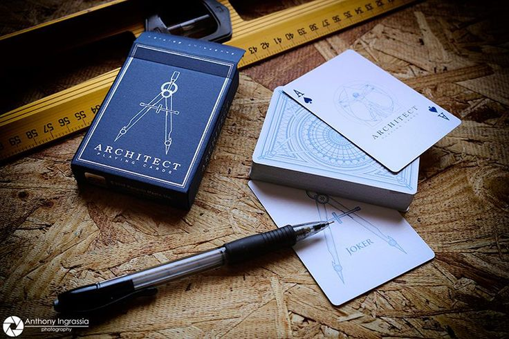 News: Penguin Magic Releases Architect Playing Cards
