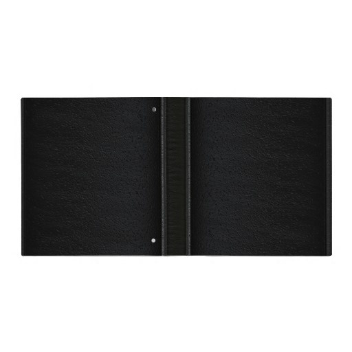 Simple Black Leather - Binder