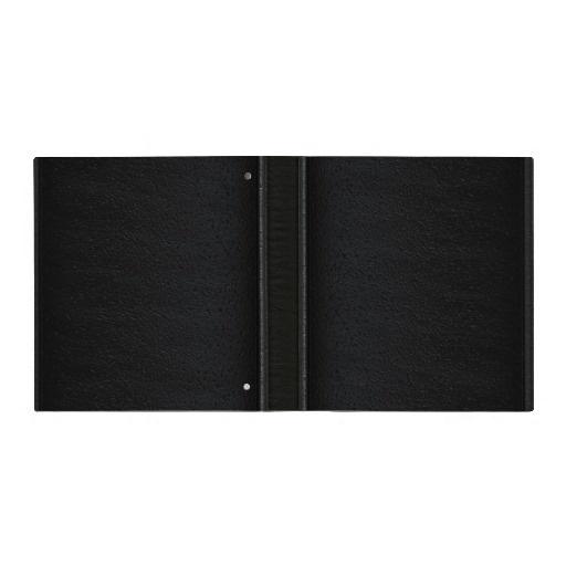 Simple Black Leather - Binder