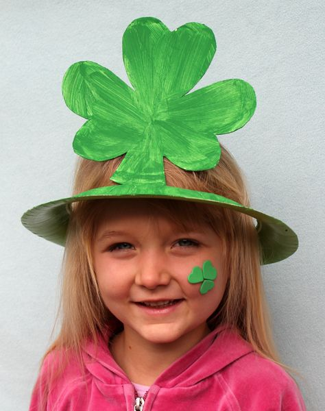 Paper plate hatHoliday, Crafts For Kids, Crafts Ideas, Clovers, Kids Crafts, St Patricks Day, Paper Plates Hats, Toddlers Crafts, Shamrock Hats