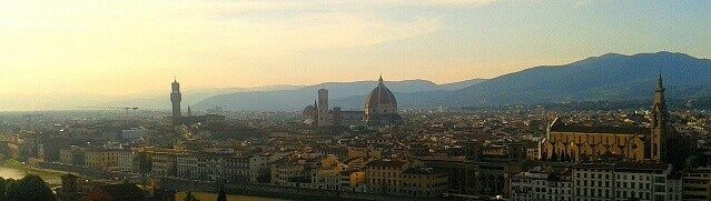View from Palazzo Michelangelo