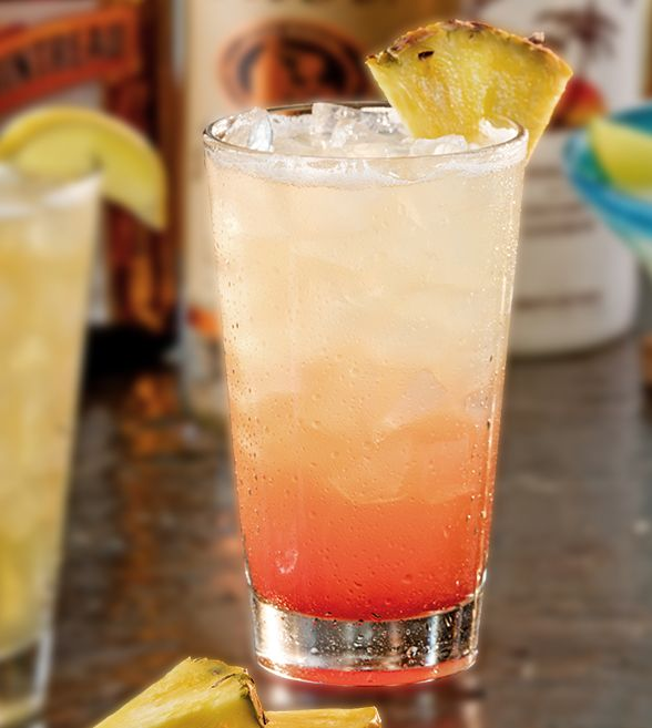 Made from Tito's® Handmade Vodka, Malibu® Coconut Rum, house-made fresh sour, pineapple juice and a little grenadine. Try our NEW Tito's® Punch only at Chili's!