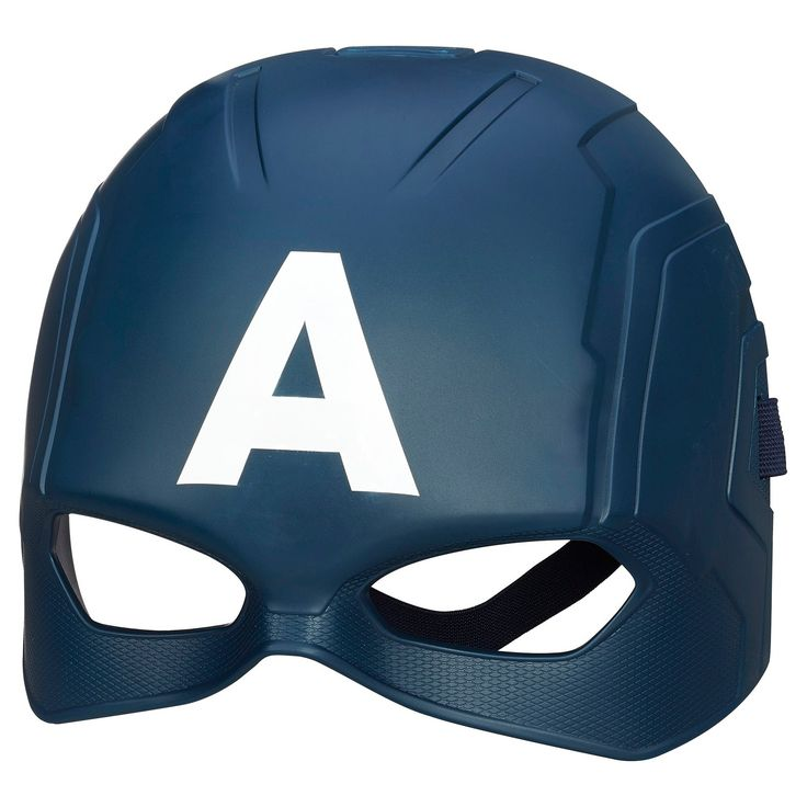 <p>Take on the identity of your favorite Avenger with this realistic Captain America mask! You'll be the terror of your foes when you pull it on, because you'll look like an even scarier version of the patriotic superhero! Gear up with your Captain America Mask!</p><p> </p><p>Marvel products are produced by Hasbro under license from Marvel Characters B.V.<&#47...
