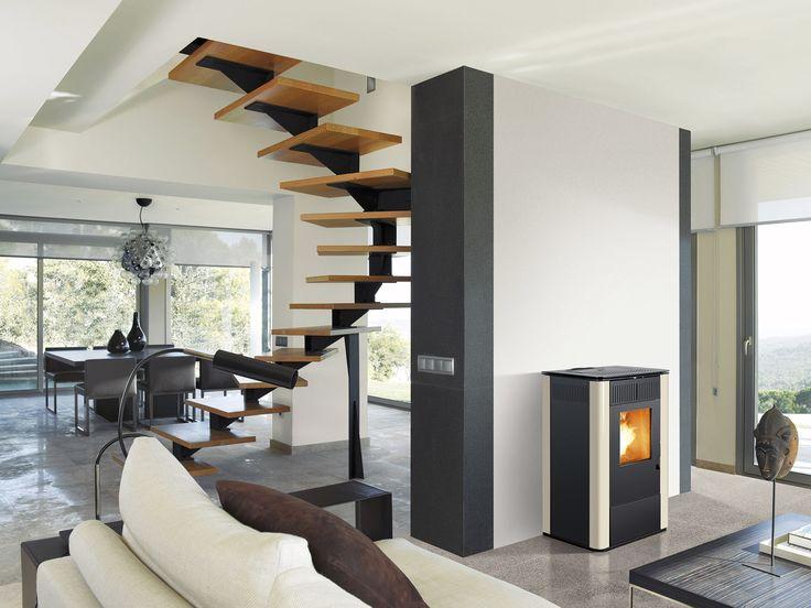 Sistemas de calor para el hogar de Jorge Fernández #Estufa #decoración #diseñointerior