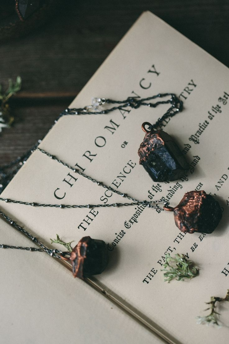 Glistening raw Tourmaline necklace. A grounding stone, to be worn every day to bring calmness and stability to its wearers' life. Believed to help prevent the wearer from absorbing negative energy and stress.