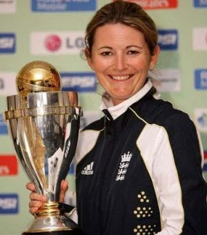 Charlotte Edwards MBE & The Women's Cricket World Cup!