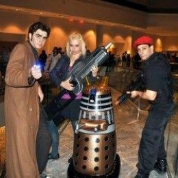 Do-it-yourself Doctor Who costume ideas for Halloween, conventions, cosplay, or costume parties.