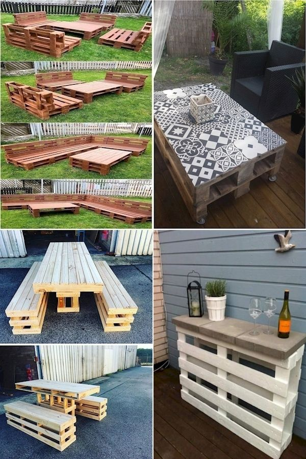 Pallet Breaker How To Build Patio Furniture Out Of Pallets Orange Pallet In 2020 Home Furniture Pallet Furniture Pallet Breaker