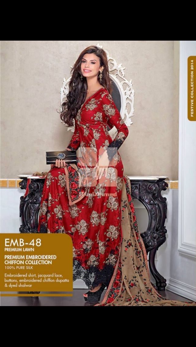 Gul Ahmed 2014 summer collection