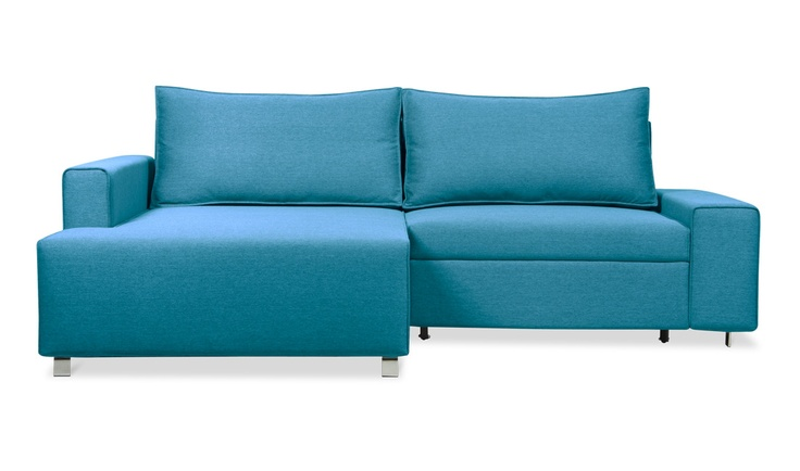 Tribeca Corner Sofa Bed Turquoise Right Online Fashion