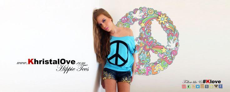 KhristalOve Hippie Tees