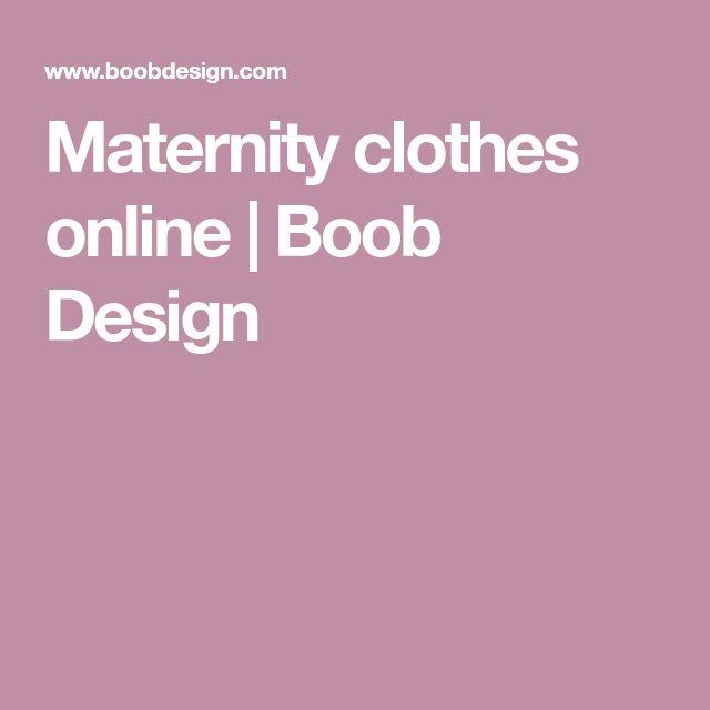 Maternity clothes online | Boob Design
