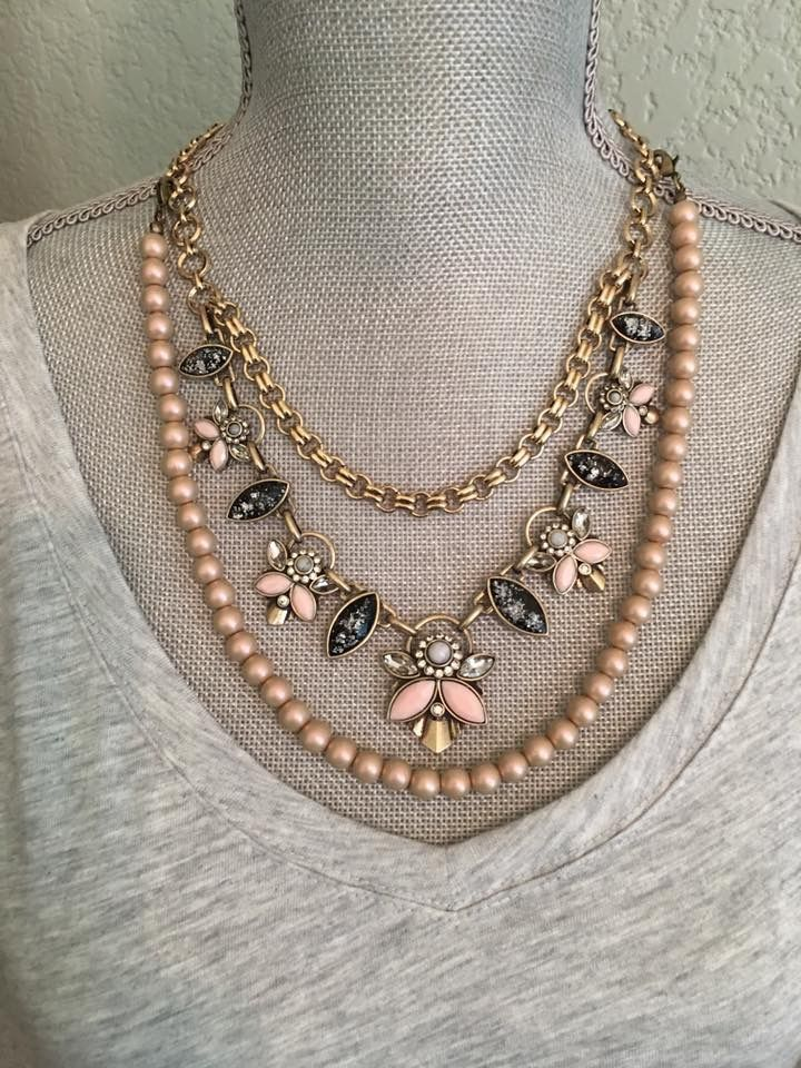 Minx necklace with the beads from Sable Premier Designs Jewelry