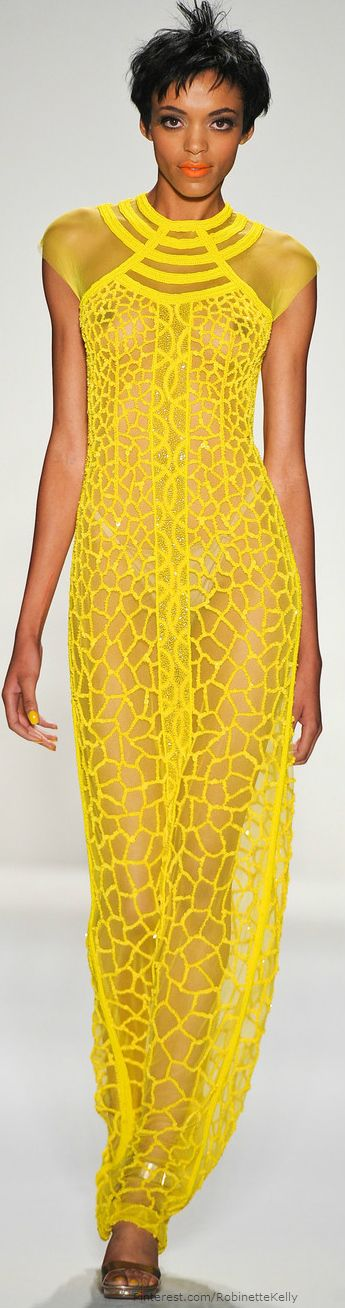 If only it was black.. Joanna Mastroianni giraffe print sheer maxi | S/S 2014