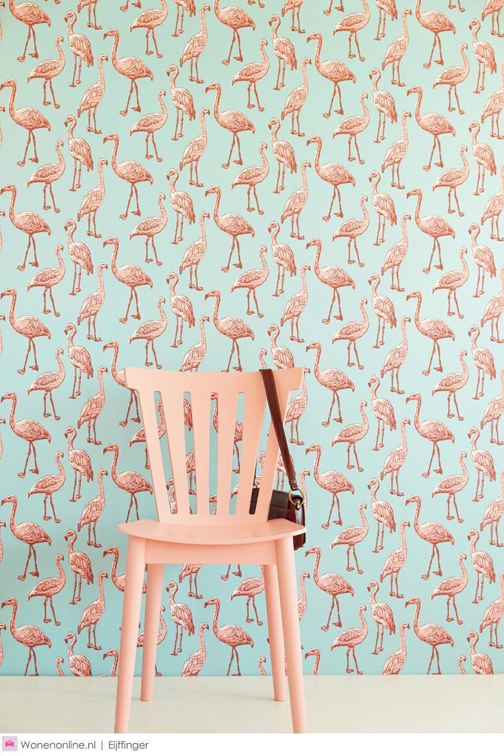 we want flamingo wallpaper in our lives | http://ban.do