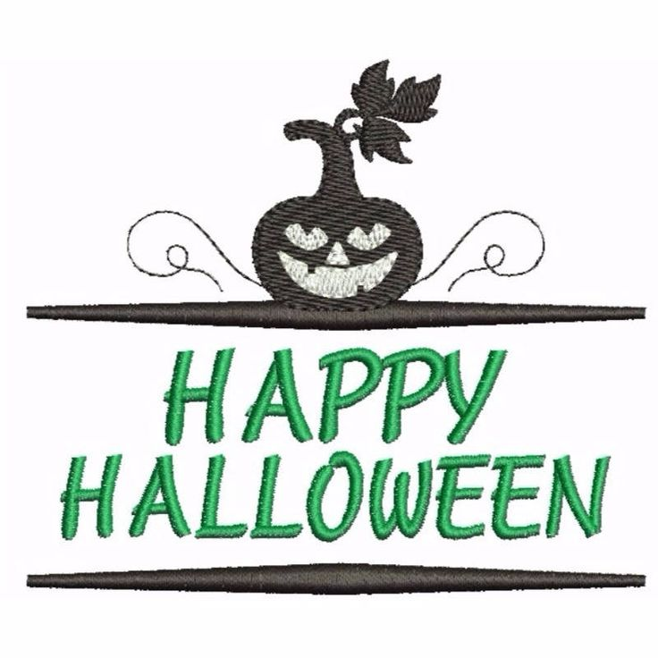 Happy Halloween Embroidery design Pumpkin designs pattern frame instant digital pes hoop machine file by SvgEmbroideryDesign on Etsy