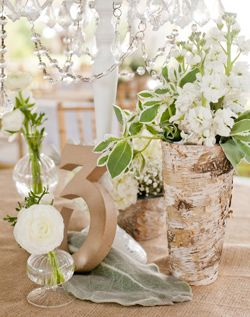 I like the skinny birch vase and color combos