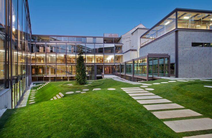 Fotografías Colegio Arquitectos Madrid