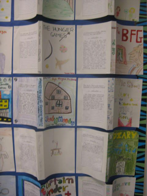 Love this idea I saw for book reports